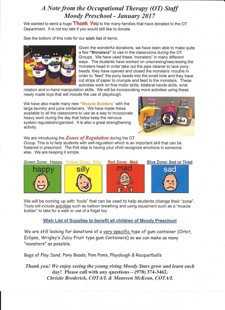 Moody Preschool Open House 2017